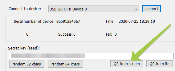 Activating USB TOTP  token with Office 365 - Self-service