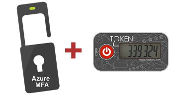 Azure MFA tokens, OATH TOTP Hardware MFA tokens for Office 365  Azure cloud Multi-factor authentication