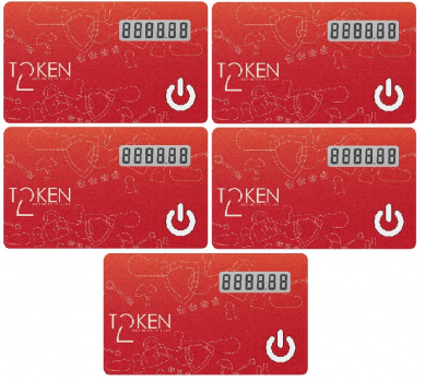 Token2 miniOTP-1 cards -5 pack [delayed delivery]