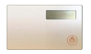 Token2 miniOTP-1-NB (nonbranded) card