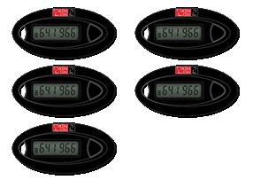 Token2 c101 hardware tokens - pack of 5