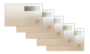 Token2 miniOTP1-NB (nonbranded) card - 5 pack