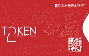NFC blocking sleeve for programmable tokens