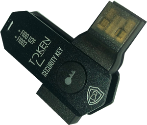 Token2 T2F2-ALU FIDO2, U2F and TOTP Security Key